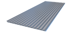 SIN18 szinuszlemez tetőre és falra